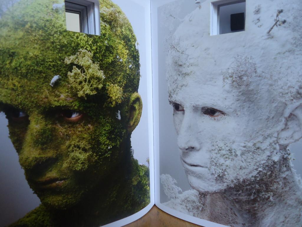 Landscape I en IV, details, 2008, Levi van Veluw, eigen foto
