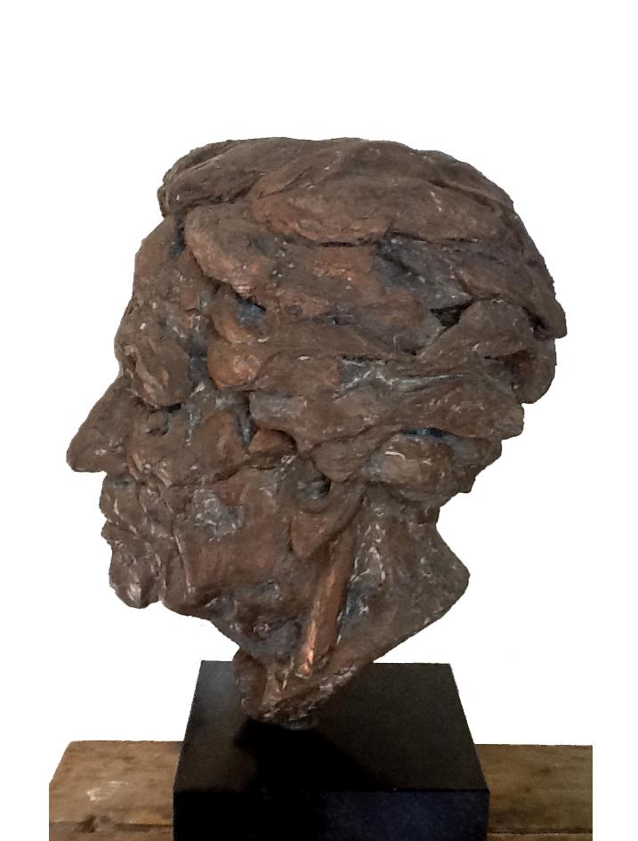 Katinka van Rood door koningin Beatrix, brons uit 1985. Foto Paleis Het Loo