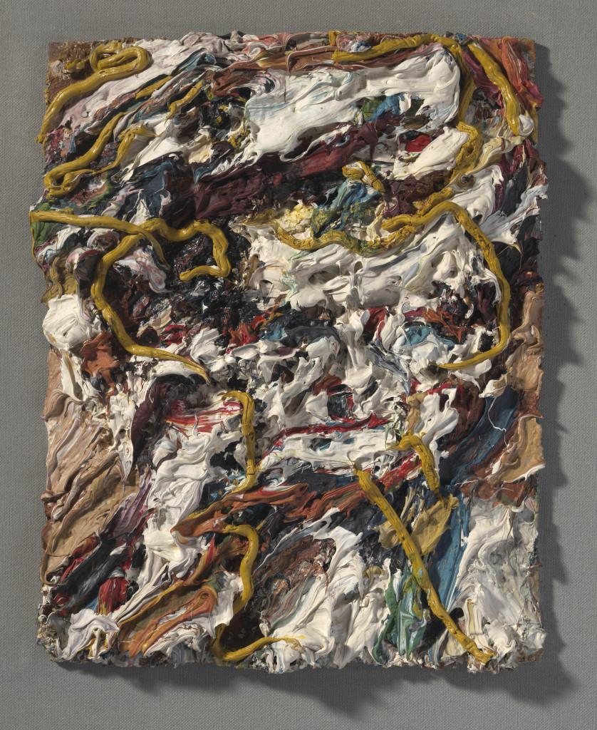 Frank Auerbach, Head of E.O.W. II, 1964, courtesy Marlborough Fine Art