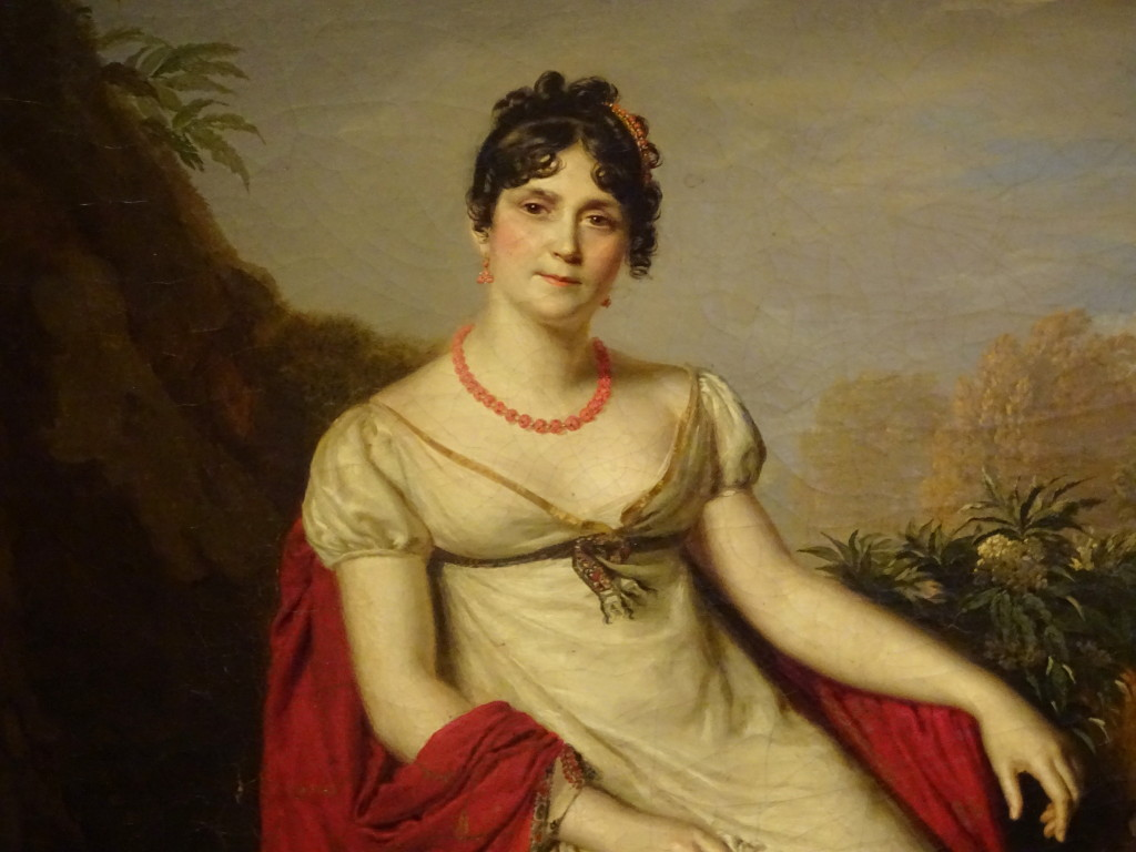 Portret van Joséphine de Beauharnais, 1812, Firmin Massot, detail, eigen foto