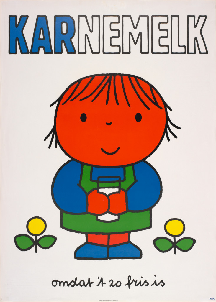 Karnemelk omdat t zo fris is, Dick Bruna, 191, copyright Mercis bv