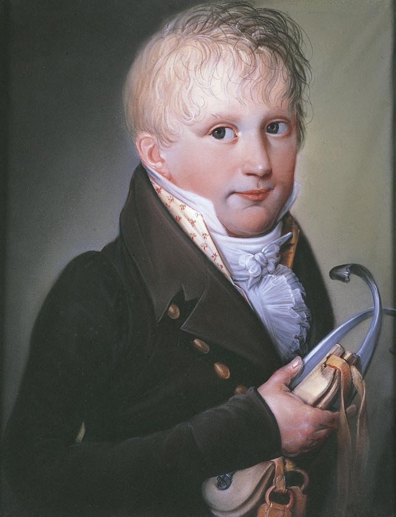 Theodorus Bohres (werkzaam 1810-1830), Portret van Maximilianus van der Heyden, ca. 1811, Brantsen van de Zyp Stichting, Arnhem