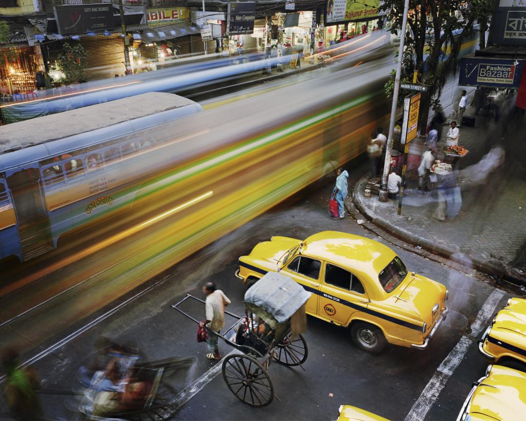 Kolkata (Calcutta), uit de serie METROPOLIS, 2008, foto: Martin Roemers