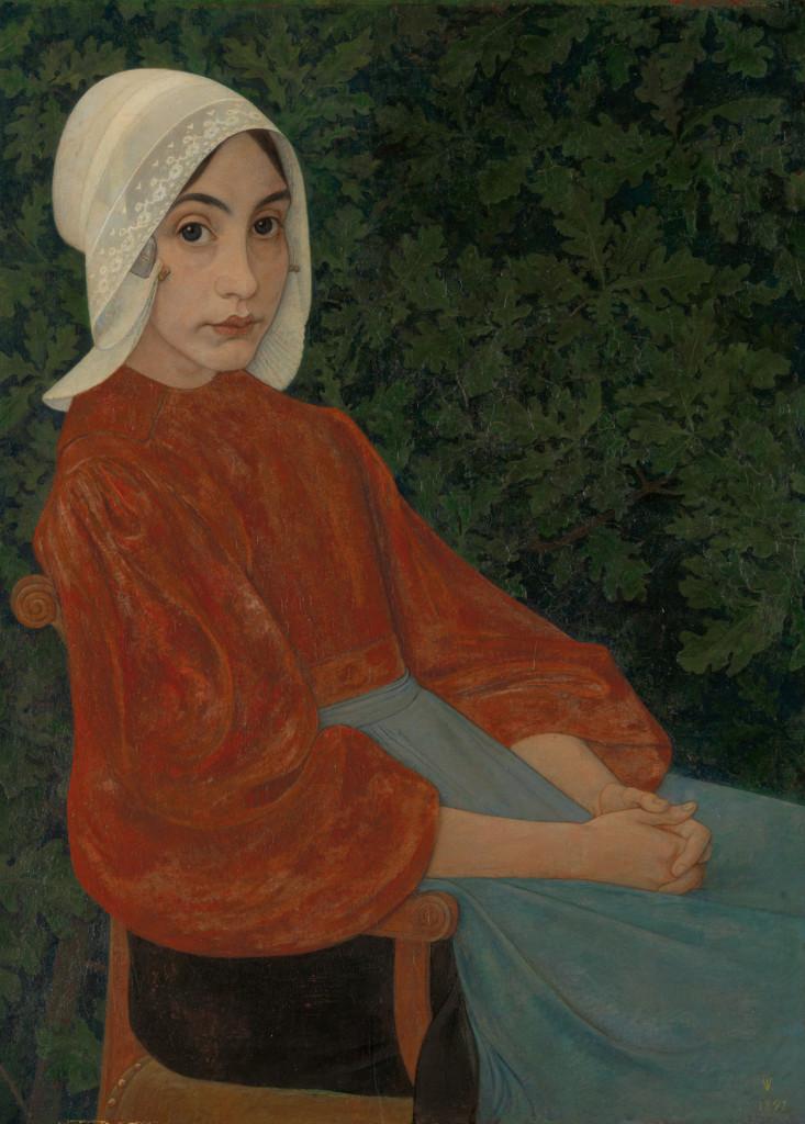Jan Veth, Karen, 1892, foto Museum Kröller-Müller
