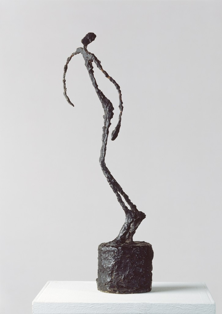 Alberto Giacometti, L'homme qui chavire, 1950, brons. Foto: Kunstmuseum Basel