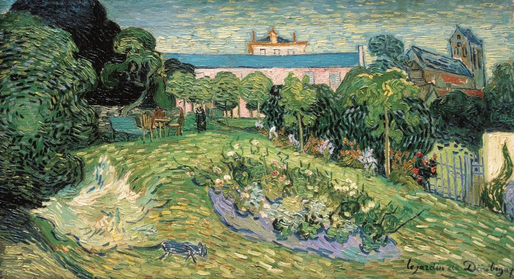 Vincent van Gogh, De tuin van Daubigny, 1890, Collectie R. Staechelin, foto Van Gogh Museum