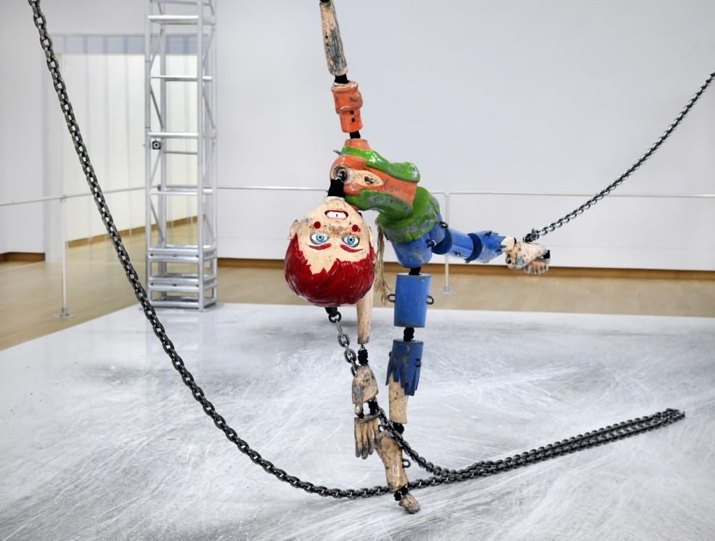 Jordan Wolfson, Colored Sculpture