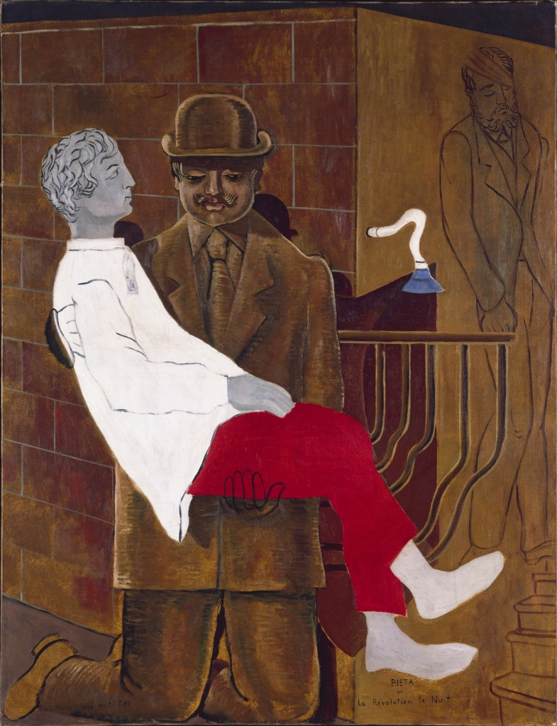 Max Ernst, Pietà ou La Révolution la nuit, 1923, Tate Londen, foto Tate Images