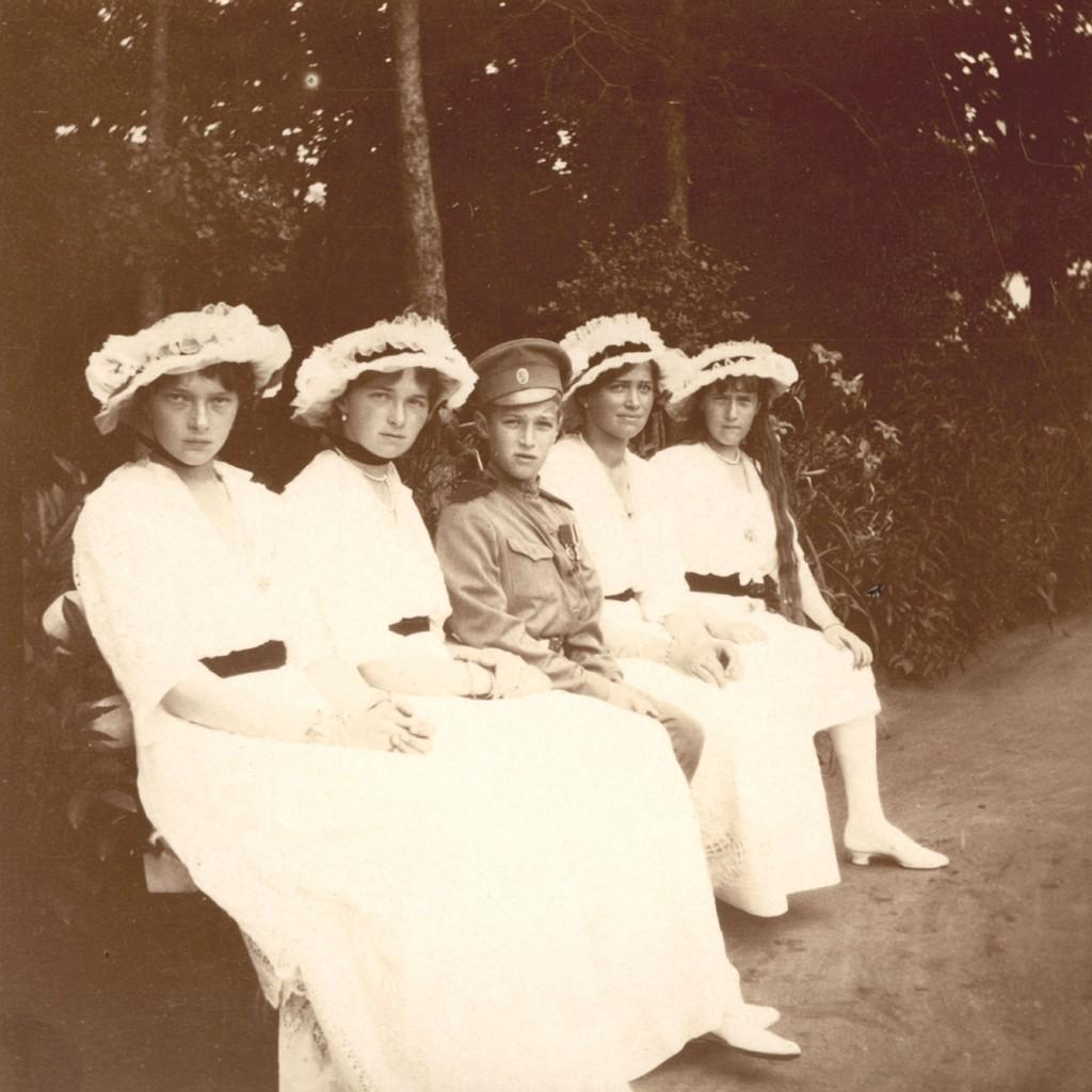 Фото царской семьи на пляже