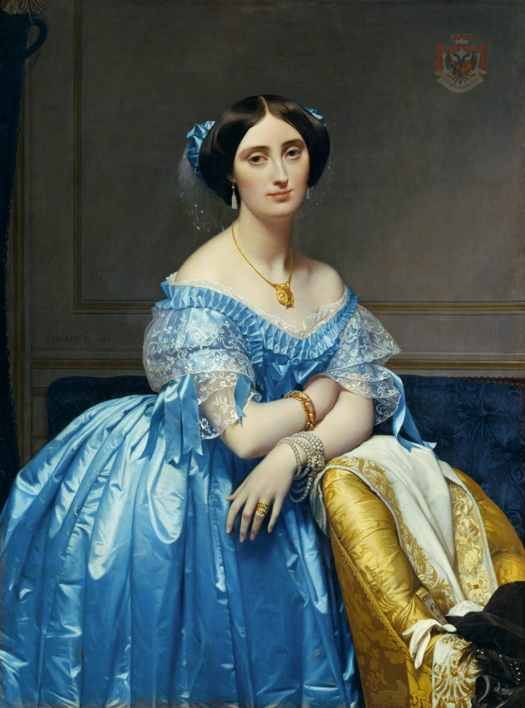 Jean Auguste Dominique Ingres, Portrait of the Princesse de Broglie, 1853, collectie Metropolitan Museum of Art