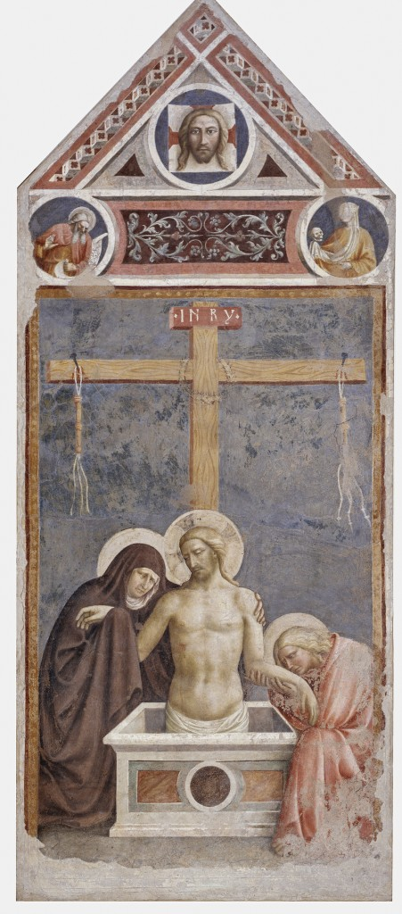Pietà Masolini da Panicale (Tomasso di Cristoforo di Renacci, 1383/84 - documented until 1435), 1424. Empoli, Museo della Collegiata di Sant'Andrea, inv. n. 32