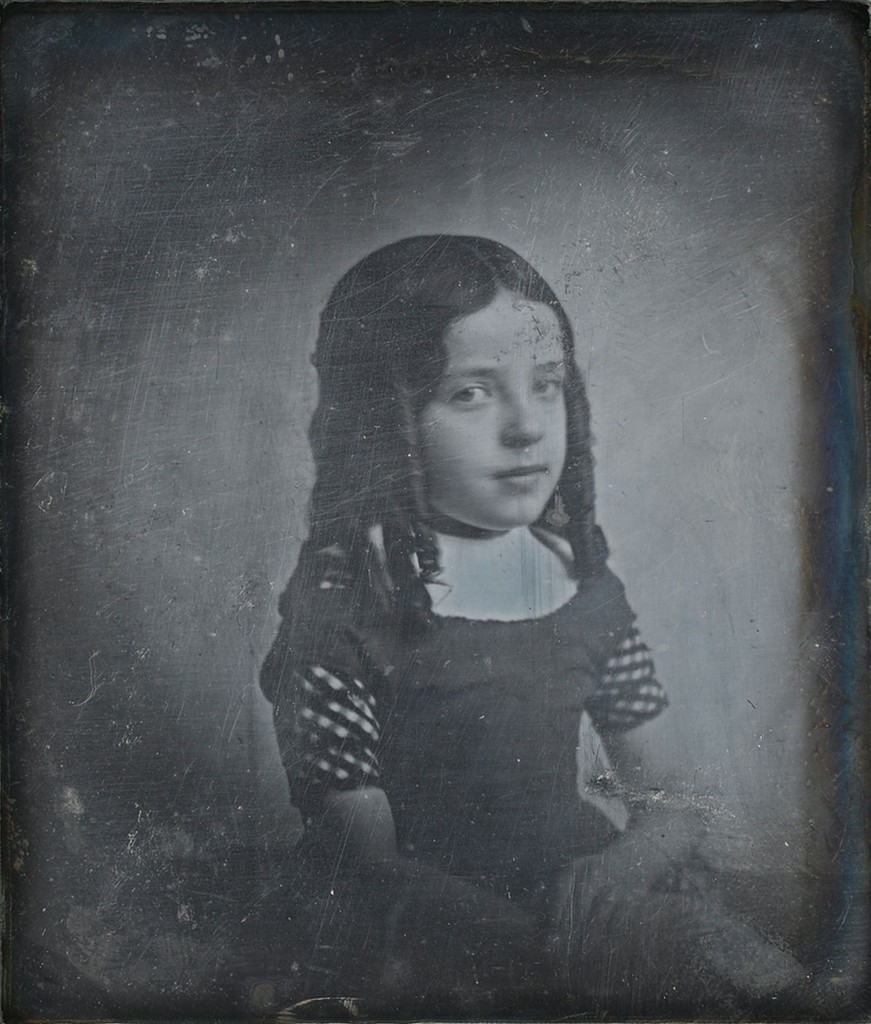 Eduard Isaac Asser, Portret van Charlotte Asser, dochter van de fotograaf, ca, 1842, Rijksmuseum Amsterdam