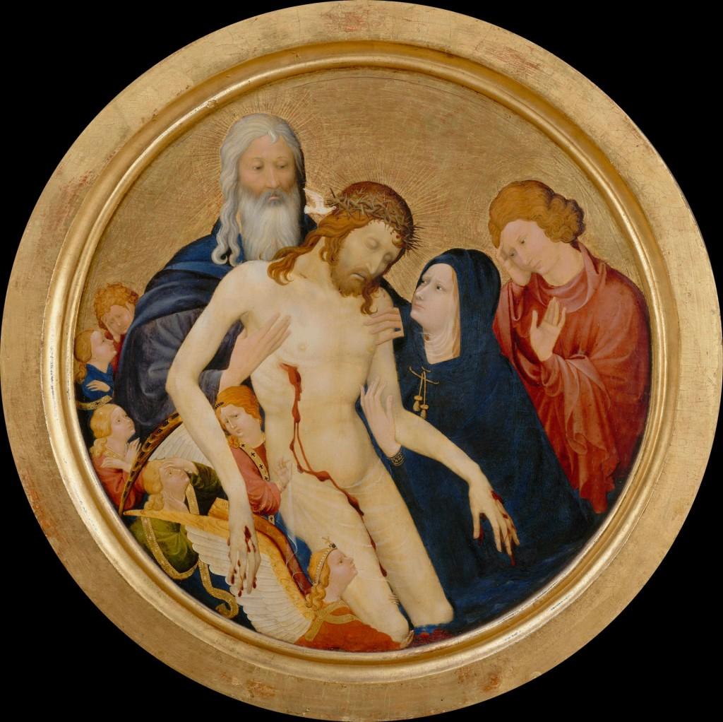 La Grande Pietà ronde, Johan Maelwael (c.1370 - 1415), ca. 1400, c Musée du Louvre, Erich Lessing