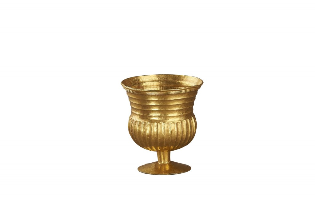 Gouden beker uit graf Avaarse man, gevonden in Bócsa, Hongarije, 625-650 na Chr. foto Allard Pierson Museum