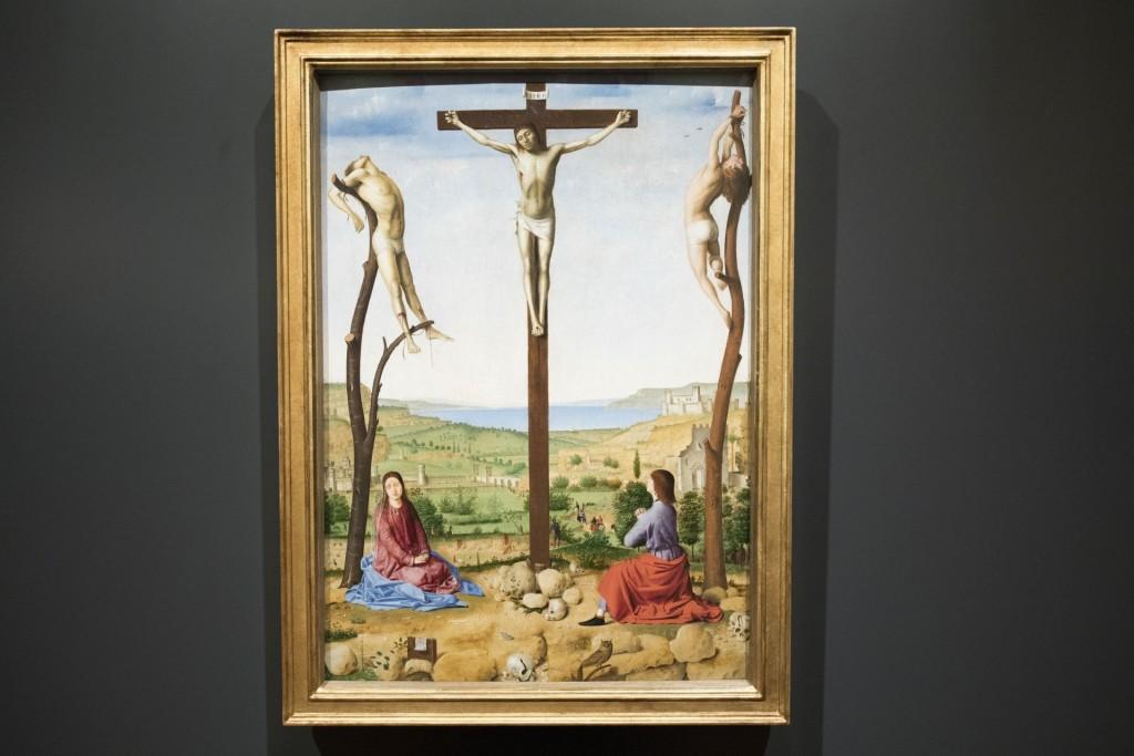 Antonello op zaal, c Galerij Prins Willem V, fotograaf Ivo Hoekstra