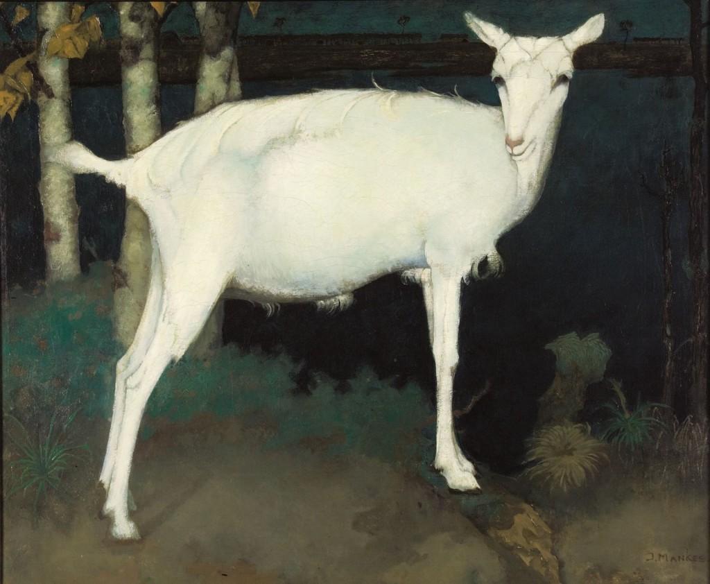 Jan Mankes, Jonge witte geit, 1914, Museum Arnhem