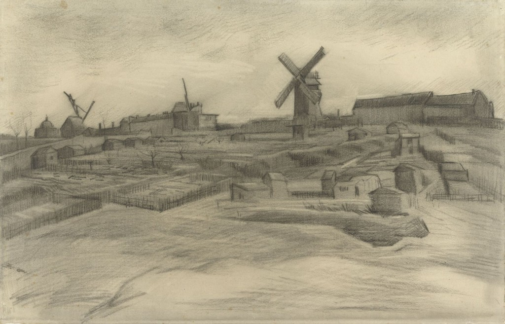 Vincent van Gogh, De heuvel van Montmartre, 1886, Van Gogh Museum Amsterdam (Vincent van Gogh Stichting)