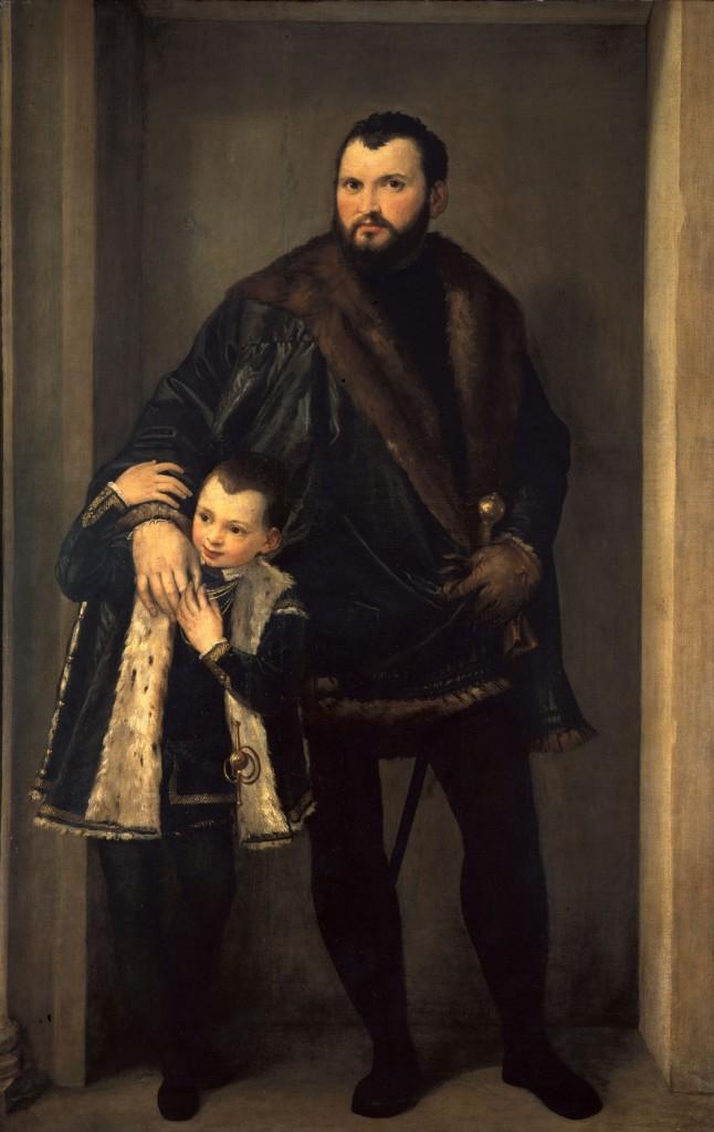 Paolo Veronese, Graaf Iseppo da Porto, ca, 1552, olieverf op doek, 207 x 137 cm. Florence, Galleria degli Uffizi