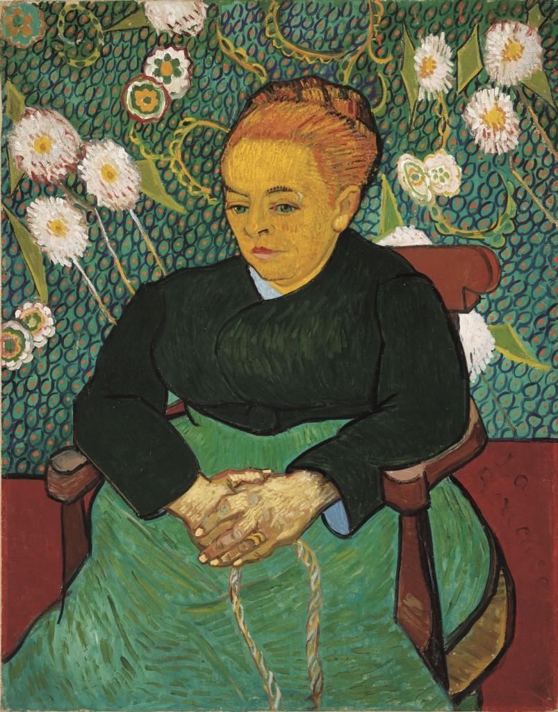Vincent van Gogh, De wiegster, 1889, The Art Institute of Chicago