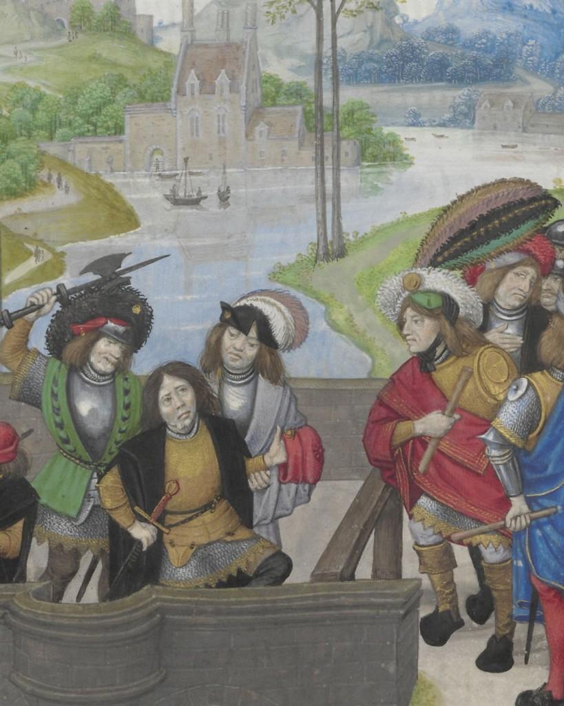 Enguerrand de Monstrelet, Chroniques, Brugge, ca. 1495, Universiteitsbibliotheek Leiden