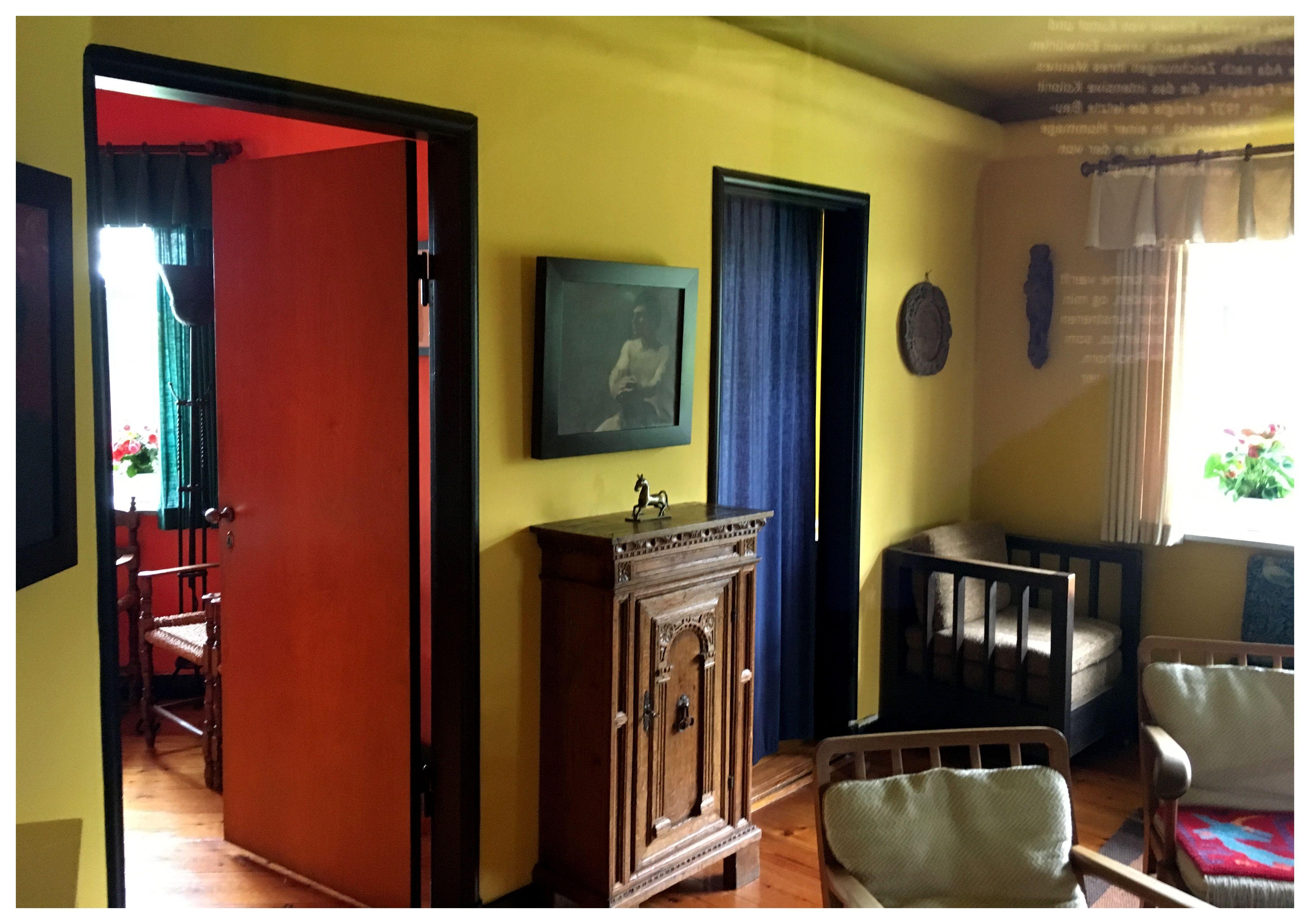 Interieur huis emil nolde foto lucie museumkijker