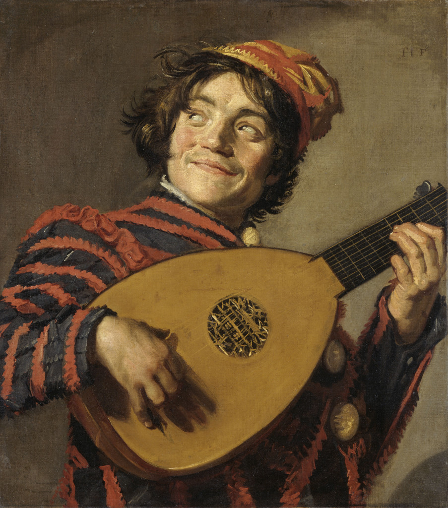 De Luitspeler, ca. 1623, Musée du Louvre, Parijs