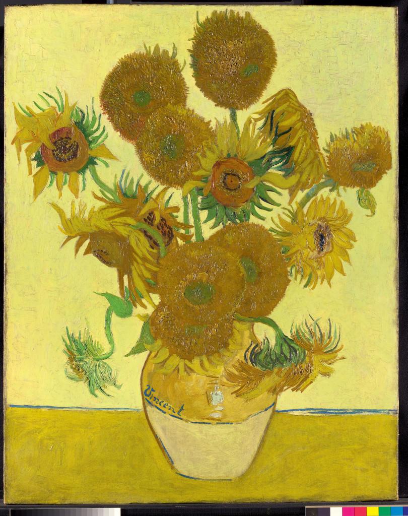 De Zonnebloemen-versie van The National Gallery