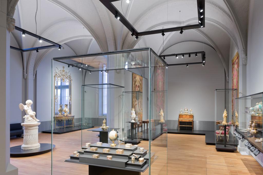 Eén van de 18de-eeuw-zalen van het Rijksmuseum, foto Rijksmuseum