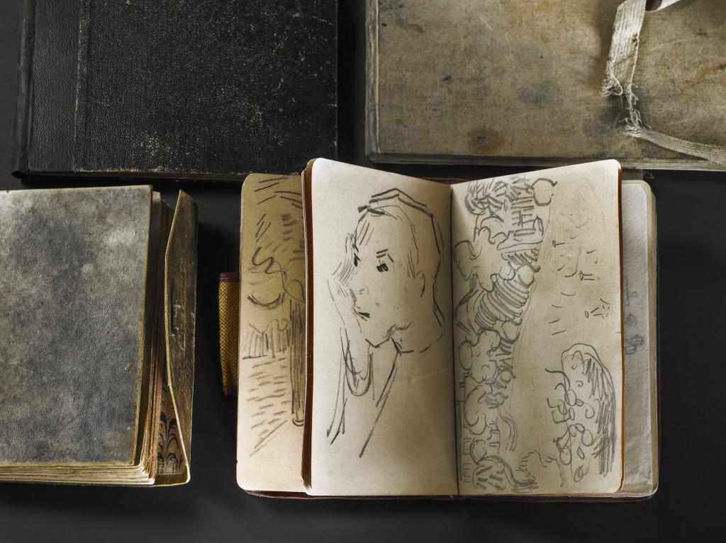 Schetsboekje Vincent van Gogh, uit de eigen collectie
