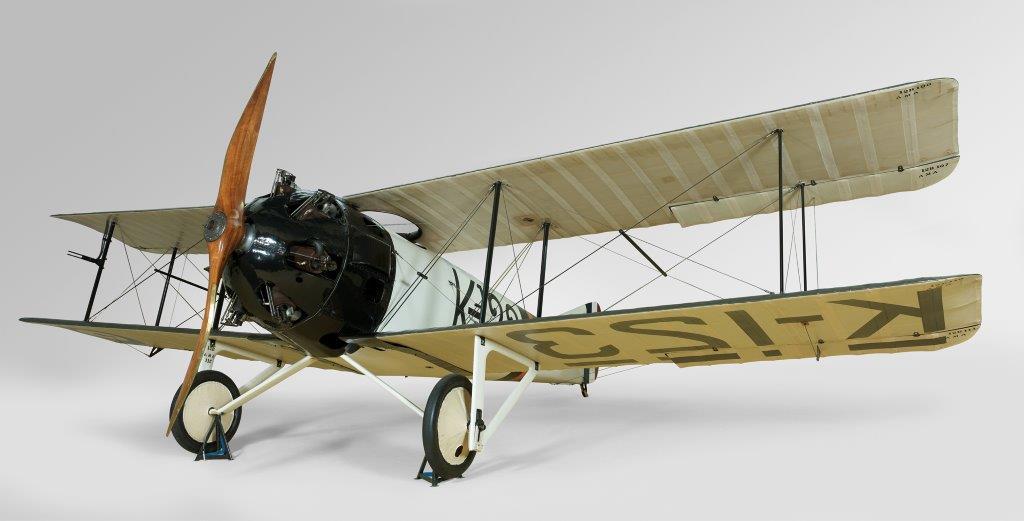 F.K.23 genaamd 'Bantam'  dubbeldekker, 1918, copyright Erven Frits Koolhoven