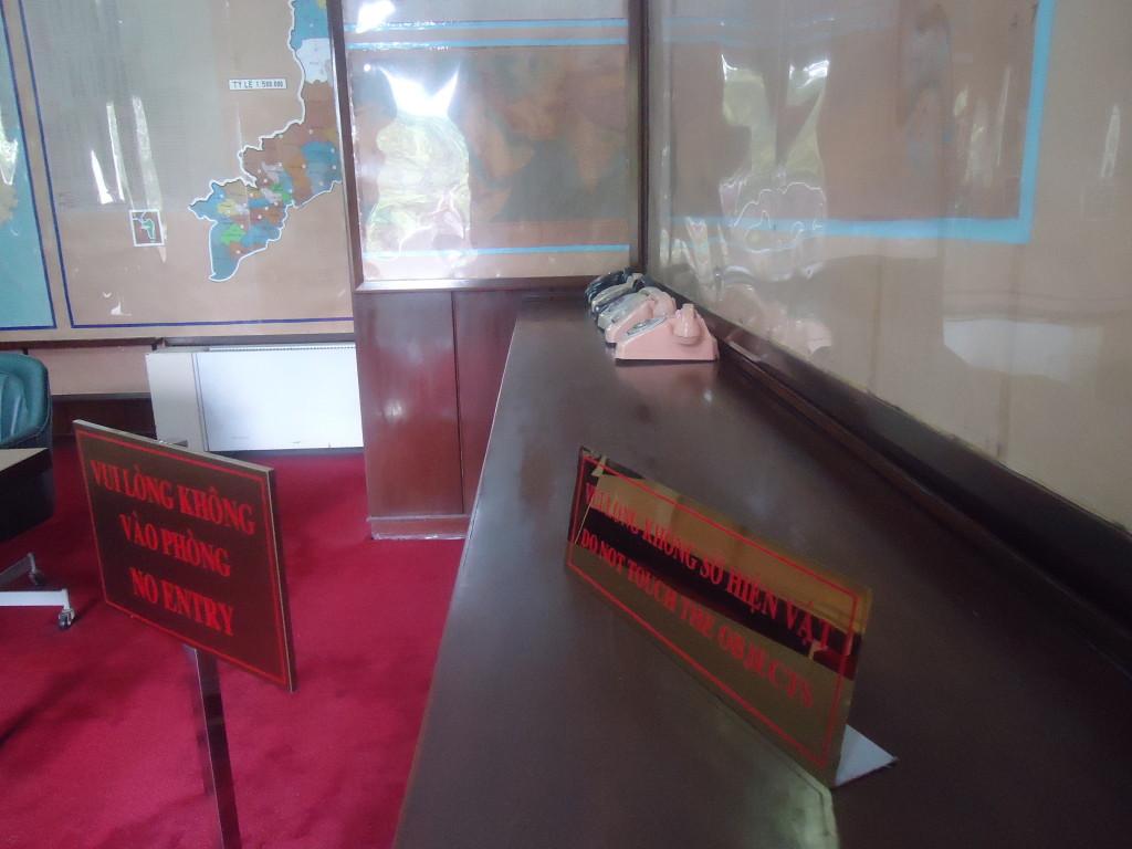 Ook in de kantoren gaat de bezoeker terug naar de tijd van de glorieuze overwinning.