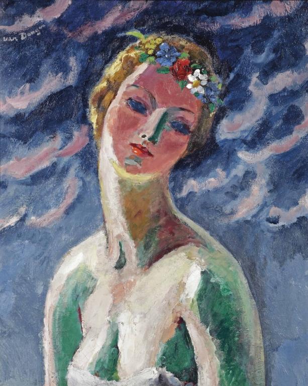 Kees van Dongen (1877-1968), Cérès, 65 bij 54 centimter