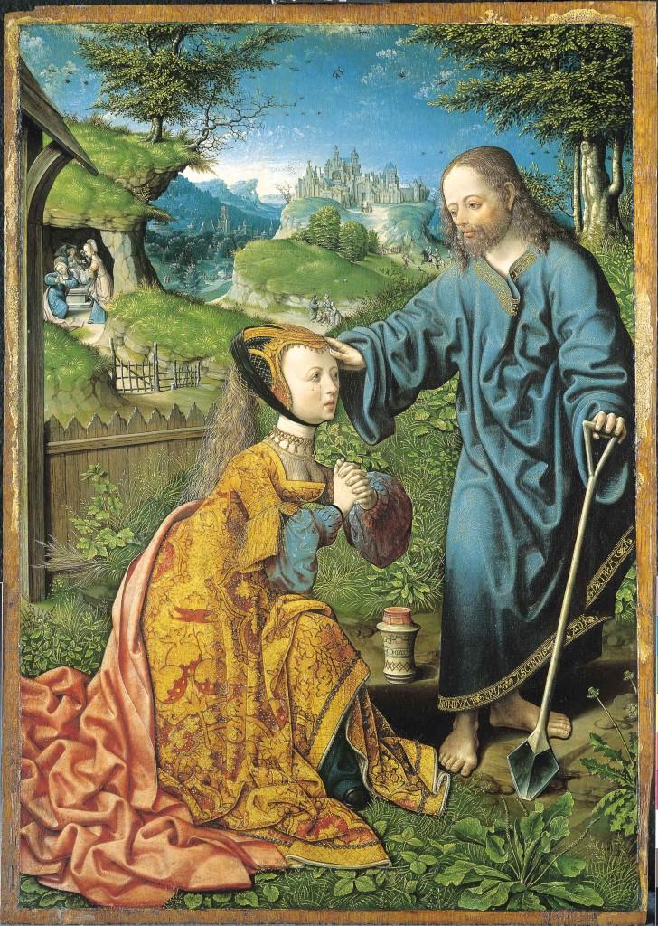 Noli me Tangere, 1507, Capodimonte Museum Napels