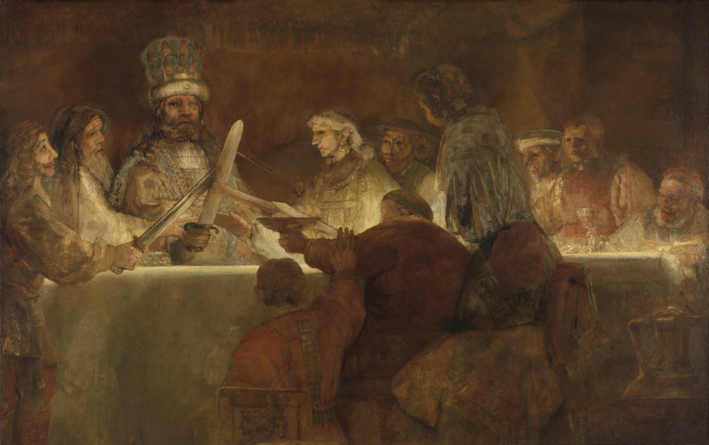 Rembrandt van Rijn, De samenzwering van de Bataven onder Claudius Civilis (1661062), Koninklijke Zweedse Academie voor Schone Kunsten, Zweden