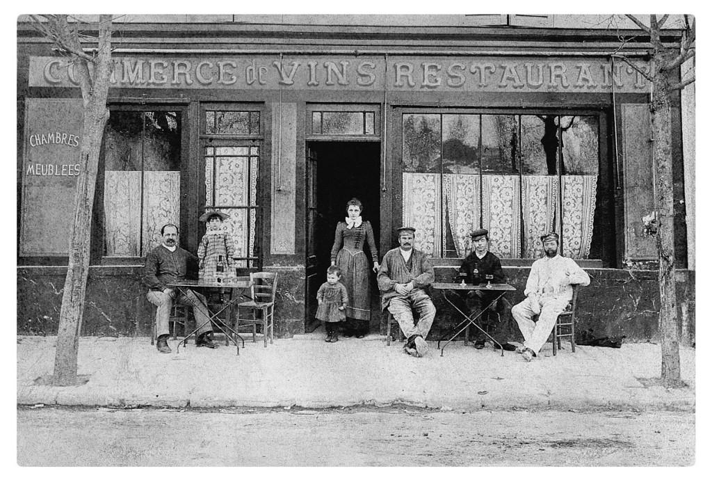 De Auberge Ravoux in 1890.