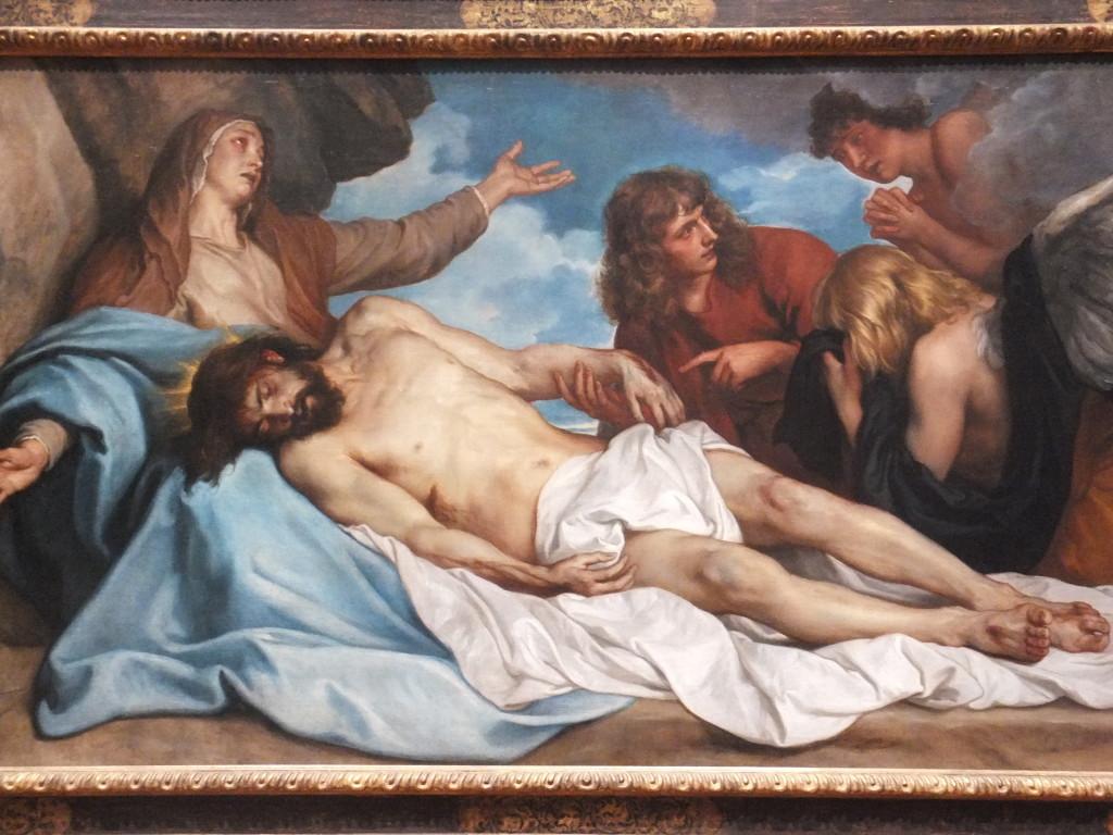 Antoon van Dyck (1599-1641), De Bewening van Christus, Koninklijk Museum voor Schone Kunsten Antwerpen