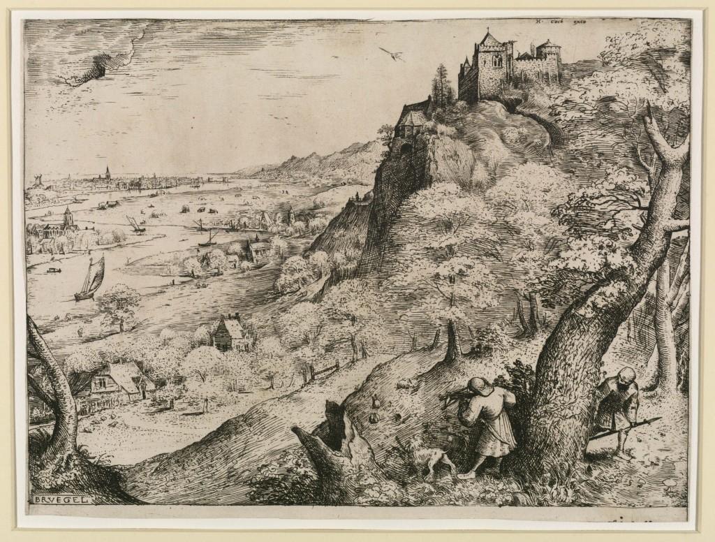 Pieter Bruegel de Oudere (1525-1569), Konijnenjacht 1560, The Courtauld Gallery, Londen
