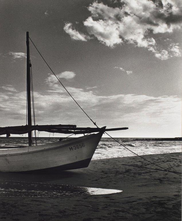 Strand bij Saintes-Maries-de-la-Mer, Emmy Andriesse, 1951-1952, foto Van Gogh Museum, copyright UB Leiden/Joost Elffers