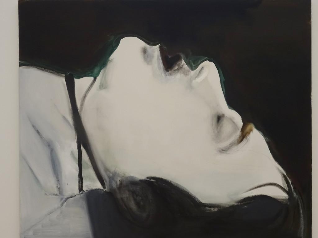 Stern, olieverf op doek, Marlene Dumas, 2004, eigen foto