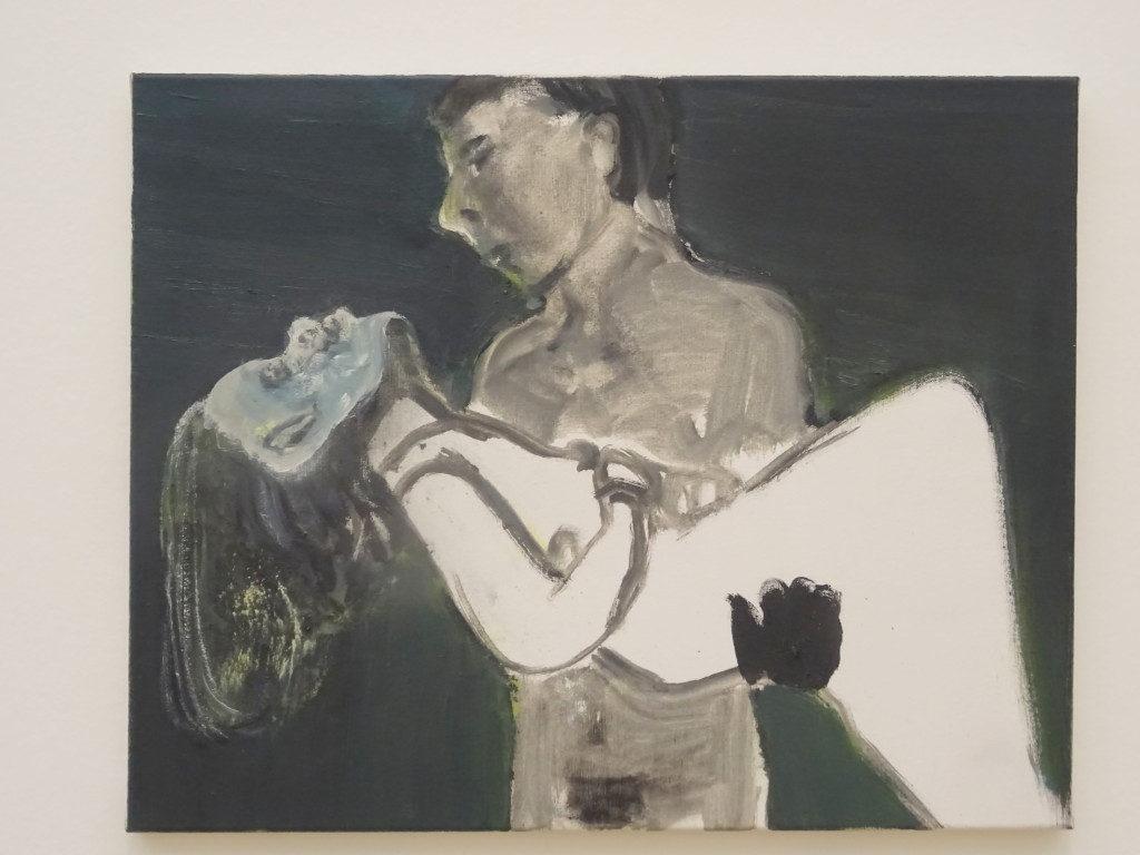 The Image as Burden, olieverf op doek, Marlene Dumas, 1993, eigen foto