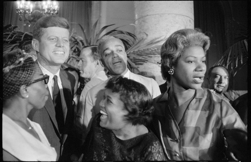 Garry Winogrand, John F. Kennedy op de Democratische Conventie, begin jaren zestig, c The Estate of Garry Winogrand