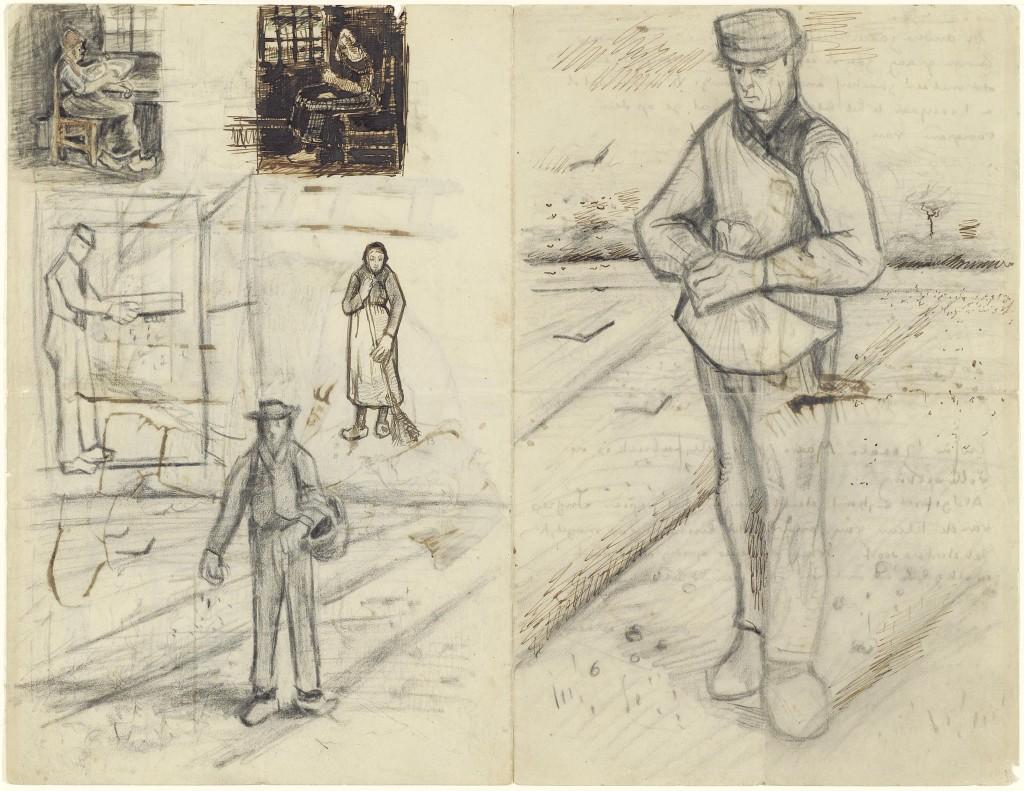 Brief Vincent van Gogh aan zijn broer Theo, Etten, midden september 1881, Van Gogh Museum (Vincent van Gogh Stichting)