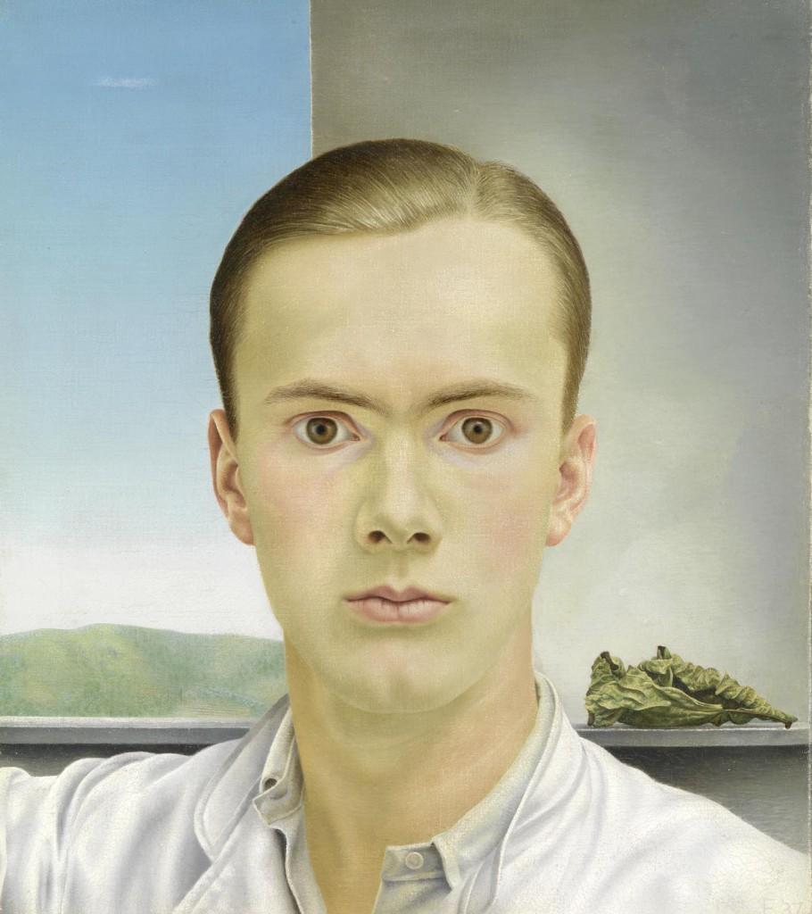 Zelfportret, Edgar Fenrhout (1912-1974), 1937, Rijksmuseum, aankoop met steun Knecht-Drenth Fonds