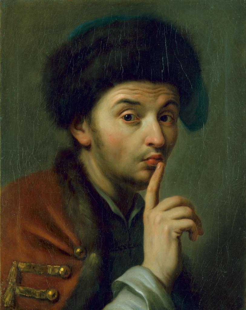 Pietro Rotari, Man met bontmuts, 1755 c Gemäldegalerie Alte Meister Staatliche Kunst Sammlungen Dresden foto Elk Estel/Hans Peter Klut