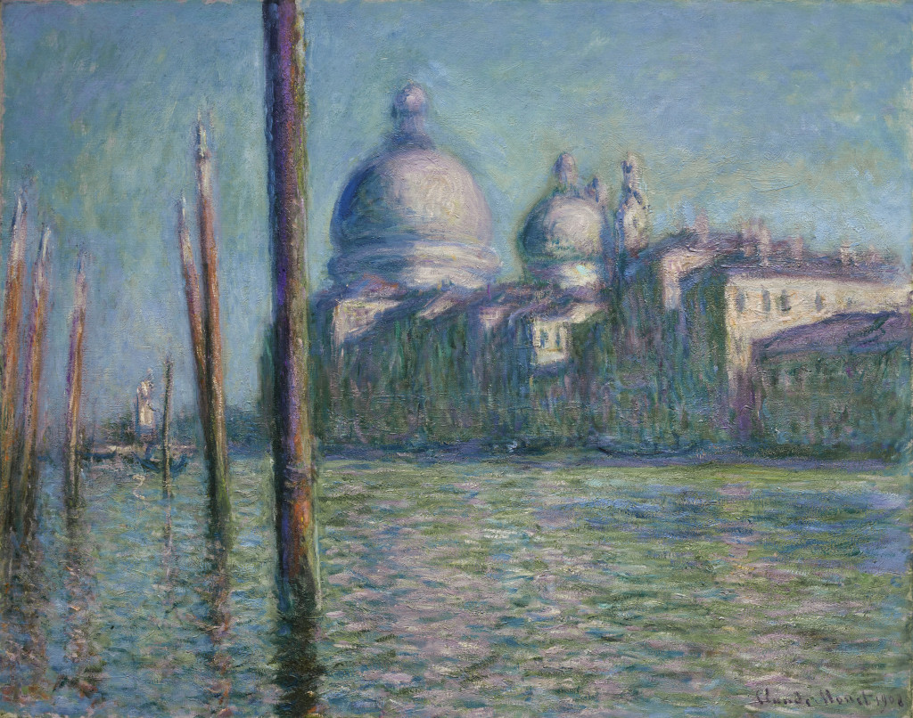 Monet, Le Grand Canal, 1908, privé-collectie. foto Sotheby's