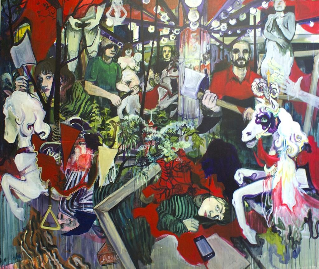 Inge Aanstoot, The young artist