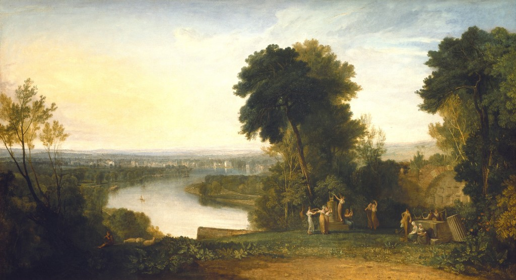 J.M. W Turner, Thomsons Aeolian Harp, 1809, Manchester City Galleries