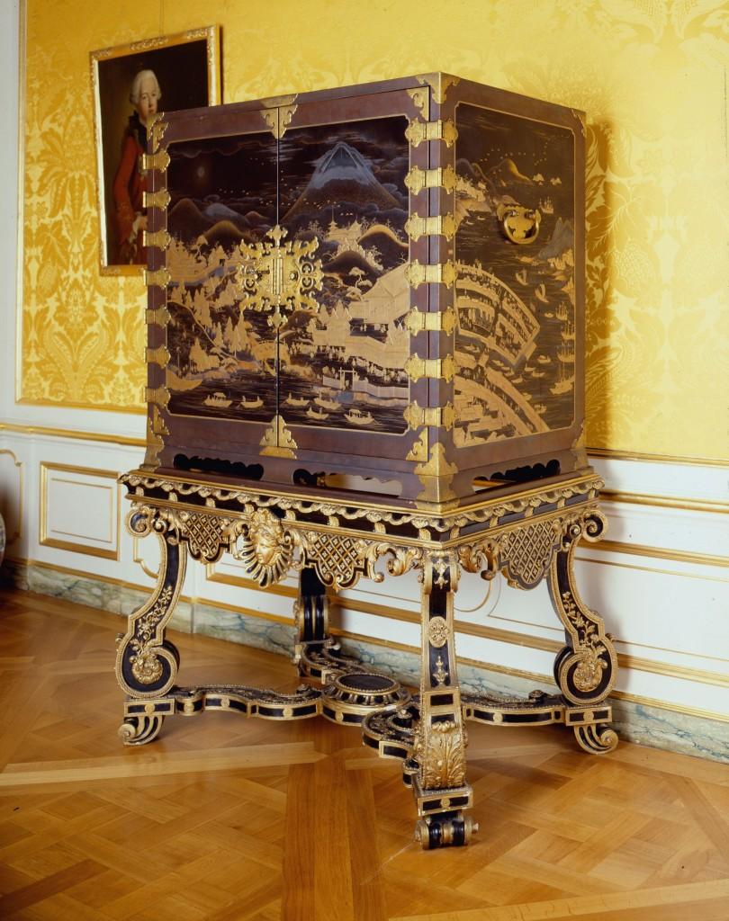 Japanse lakkabinetten uit de Gouden Eeuw, zeldzaam bruikleen uit Huis ten Bosch