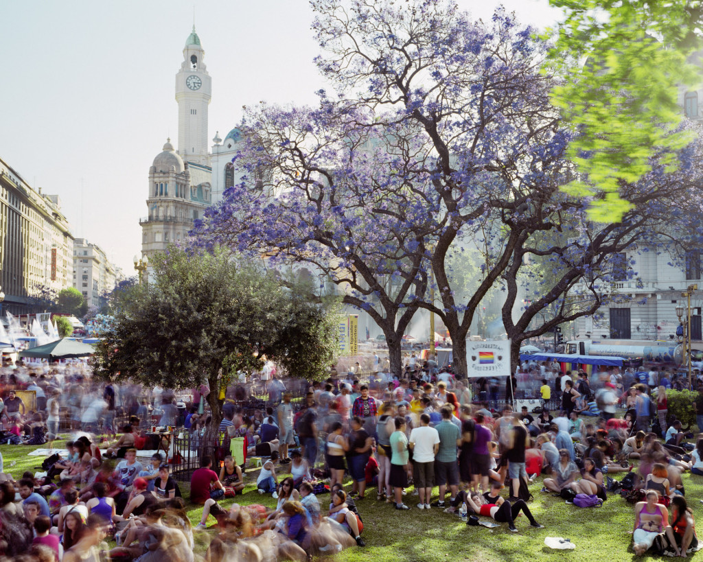 Buenos Aires, uit de serie METROPOLIS, 2014, foto: Martin Roemers