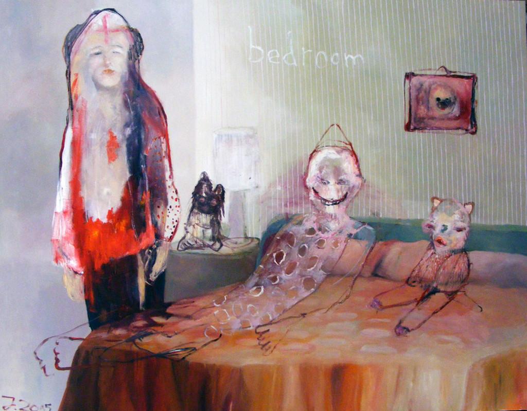 Abendmahl II, Juliane Hundertmark, Heissings Art Galerie, foto Realisme-beurs